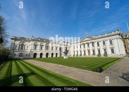 Senate House and Cambridge University The Old Schools Senate House Hill Cambridge 2019 - Stock Image
