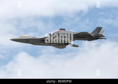 USAF Fighters - Stock Image