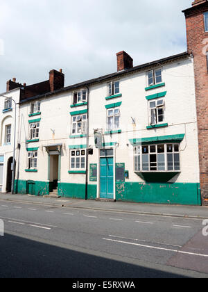 The grapes pub in Newtown, Powys Wales UK. - Stock Image
