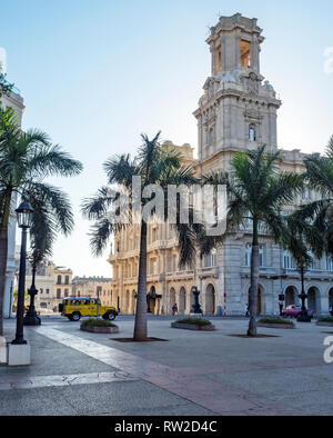 Museo Nacional de Bellas Artes - Arte Universal (National Art Gallery) opposite Parque Central on Agramonte, centre of Havana, capital of Cuba - Stock Image