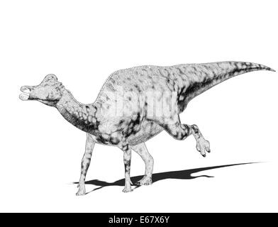dinosaur Velafrons coahuilensis - Stock Image