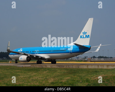 PH-BXV KLM Royal Dutch Airlines Boeing 737-8K2(WL) - cn 30370 4 - Stock Image