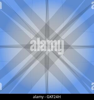 Abstract modern blue texture background. grey lines.  Vector illustration - Stock Image