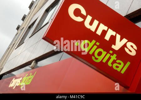 Currys Ditigal Store - Stock Image