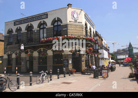 The Rutland Arms Pub Hammersmith London - Stock Image