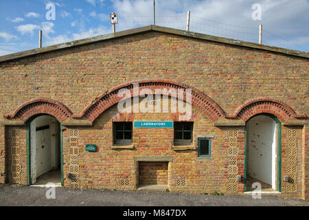 Newhaven Fort Laboratory - Stock Image