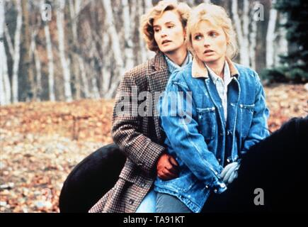 FAR NORTH (1988)  JESSICA LANGE  TESS HARPER  SAM SHEPARD (DIR)  ALIVE FILMS/MOVIESTORE COLLECTION LTD - Stock Image