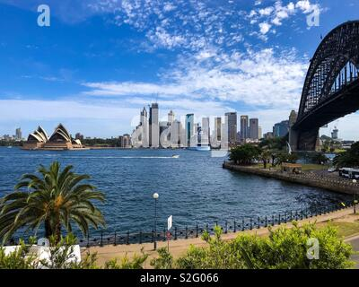 Milsons Point, Sydney - Stock Image