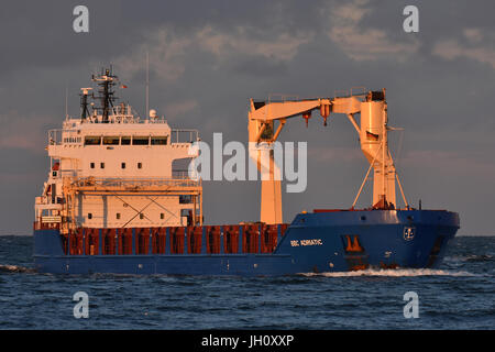 General Cargo Vessel BBC Adriatic - Stock Image