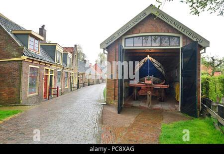 The Zuiderzee Museum, Enkhuizen, Holland, Netherlands - Stock Image