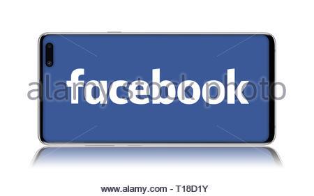 Facebook logo - Stock Image
