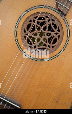 Traditional guitar - Stock Image