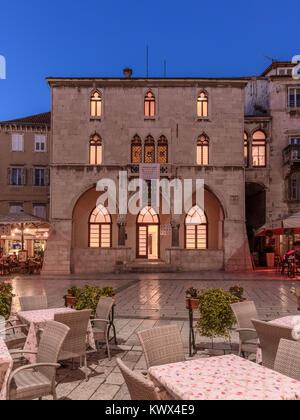 Stara Gradska Vijećnica, Old Town Hall, Split, Croatia - Stock Image