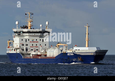 Chemical / Oil Products Tanker Astina - Stock Image