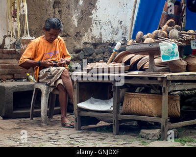 An Old Collector - Stock Image