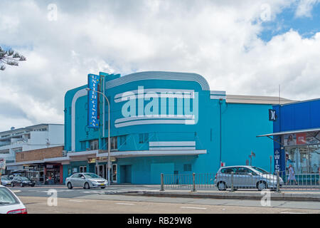 United Cinemas building. Sydney's northern beaches suburb Collaroy Australia. - Stock Image