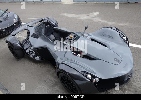The BAC Mono supercar at Goodwood United Kingdom - Stock Image