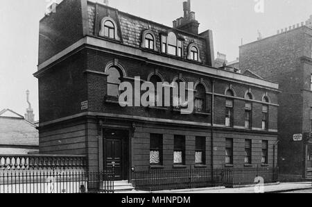 14A Upper Wimpole Street, London.      Date: circa 1910 - Stock Image