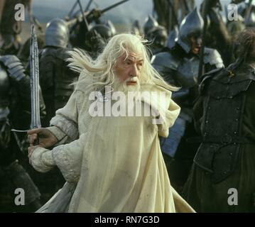 THE LORD OF THE RINGS: THE RETURN OF THE KING, SIR IAN MCKELLEN, 2003 - Stock Image