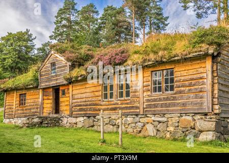 Building Called Slettereitstova, Sunbury Museum, Alesund, Norway - Stock Image