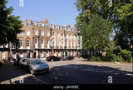 Canonbury Square Islington London - Stock Image
