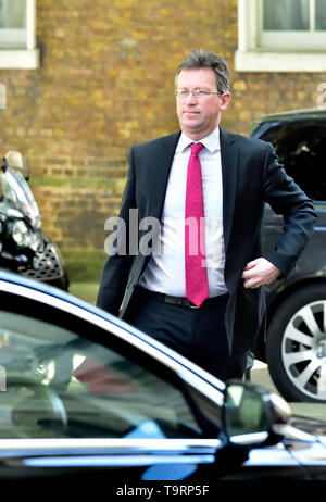 Jeremy Wright MP (Culture Secretary) leaving Downing Street after a cabinet meeting, London May 2019 - Stock Image