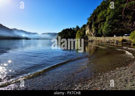 Ullswater Lake,Lake District,Cumbria,England,UK - Stock Image