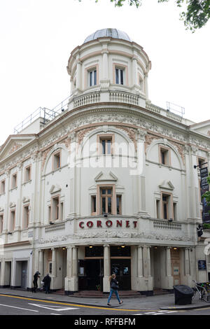 Coronet Theatre, Notting Hill Gate, Notting Hill, Royal Borough of Kensington and Chelsea, Greater London, England, United Kingdom - Stock Image