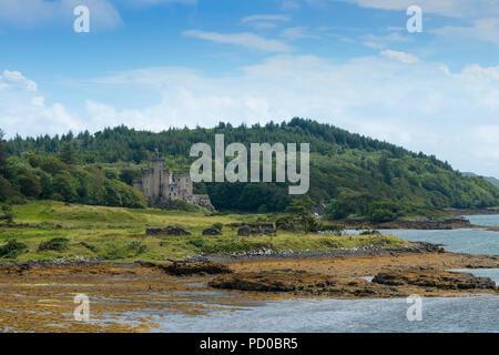 Dunvegan Castle, Isle of Skye, Scotland, UK - Stock Image