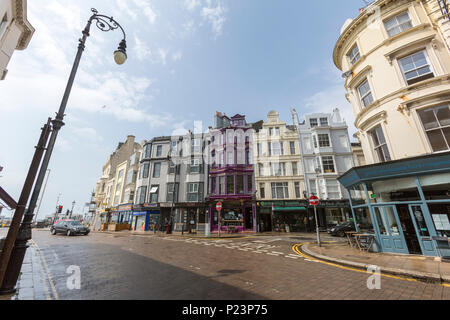 Robertson St, Hastings, East Sussex, England , UK - Stock Image