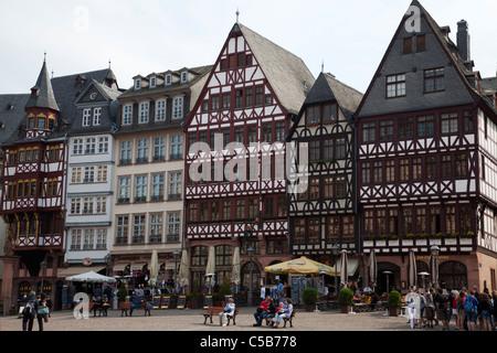 Frankfurt City Hall Rathausplatz - Stock Image