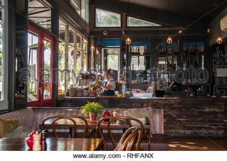Goat House Cafe, Elsternwick, Melbourne - Stock Image