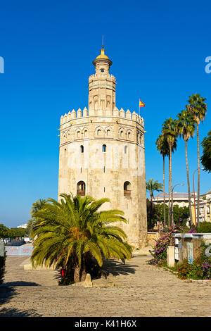 Torre Del Oro - Stock Image