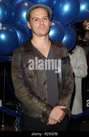 Company - opening VIP night at the Gielgud Theatre, Shaftesbury Avenue, London  Featuring: Andrew Scott Where: London, United Kingdom When: 17 Oct 2018 Credit: WENN.com - Stock Image
