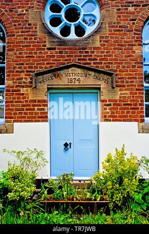 Wesleyan Methodist Chapel, Shincliffe, Durham, England - Stock Image