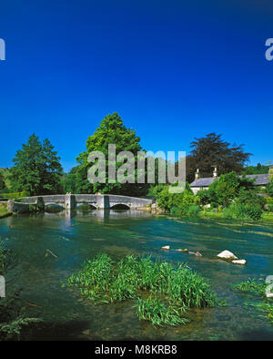 Sheepwash Bridge Ashford in the Water Derbyshire England UK - Stock Image