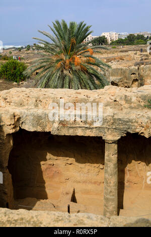 Tombs of the Kings, Paphos, Cyprus October 2018 - Stock Image