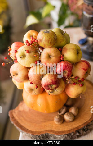 Bouquet of apples - Stock Image