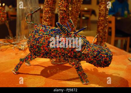 artwork creation , Namibia - Stock Image