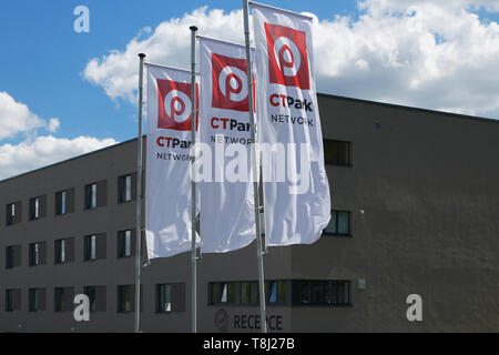Bor, Czech Republic. 13th May, 2019. Catering company LSG, a producer of meals for airline catering and a subsidiary of air carrier Lufthansa, will have a new plant in CTPark Bor in western Bohemia, Czech Republic, concentrating in it production from the entire Central Europe, Bor mayor Petr Myslivec has told CTK on May 13, 2019. The LSG plant in Bor, now employing about 80 people, intends to raise the workforce up to 1,000 employees within a couple of years. Two fifths of them could be Philippine, whom the company plans to bring into the country. Credit: CTK/Alamy Live News - Stock Image