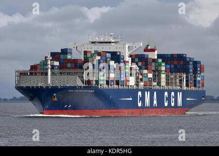 CMA CGM Benjamin Franklin - Stock Image
