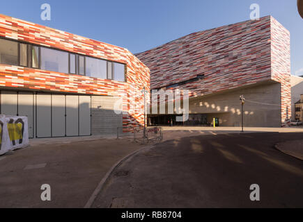 M9 Museo del Novecento - Museum of the 20th century Venice Mestre, building designed by Sauerbruch Hutton architects - exterior - Stock Image