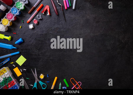 Welcome back to school background with copy space - Stock Image