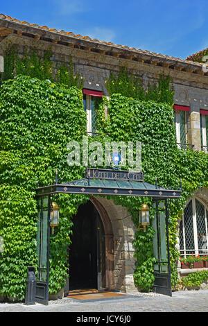Hotel de la Cité, Carcassonne, Aude, France - Stock Image