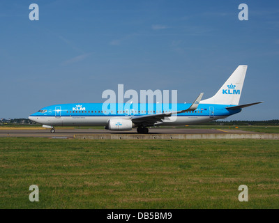 PH-BXF KLM Royal Dutch Airlines Boeing 737-8K2(WL) - cn 29596 3 - Stock Image
