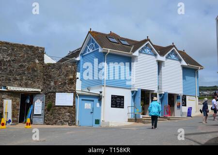 Woolacombe Beach, Woolacombe Bay, Devon, UK - Stock Image
