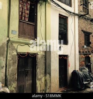 Kathmandu houses - Stock Image