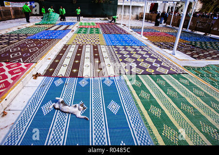 Eyup Sultan Mosque. Friday. Istanbul.Turkey - Stock Image