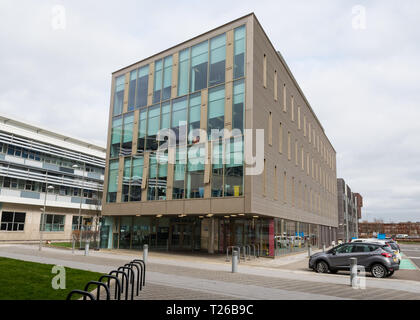 West Dunbartonshire Council offices, Aurora House Clydebank, Scotland, UK - Stock Image