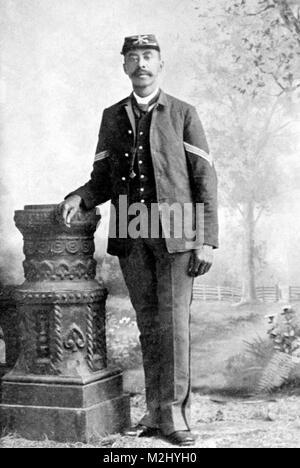John Denny, Buffalo Soldier, Medal of Honor Recipient - Stock Image